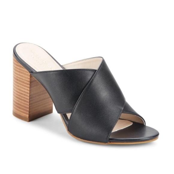 aa632477c876 Cole Haan Shoes - Cole Haan Gabby Leather Block Heel Sandals 8.5